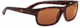 Serengeti Martino Sunglasses Sunglasses - 7511 Dark Tortoise / Drivers Polarized