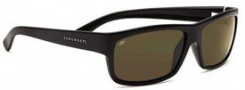 Serengeti Martino Sunglasses Sunglasses - 7492 Shiny Black / 555nm Polarized