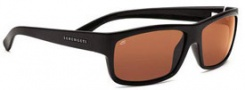 Serengeti Martino Sunglasses Sunglasses - 7489 Shiny Black / Drivers Polarized