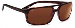 Serengeti Livorno Sunglasses Sunglasses - 7456 Dark Tortoise / Drivers Polarized