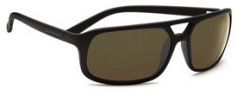 Serengeti Livorno Sunglasses Sunglasses - 7455 Shiny Black / Drivers Gradient