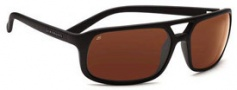 Serengeti Livorno Sunglasses Sunglasses - 7454 Satin Black / 555nm Polarized