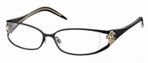 Roberto Cavalli RC0479 Eyeglasses Eyeglasses - 001 - Shiny black- rose gold, black/crystal