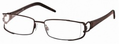 Roberto Cavalli RC0546 Eyeglasses Eyeglasses - 034 - Light bronze- croccodile effect/brown temples