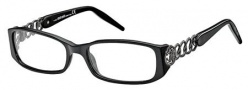 Roberto Cavalli RC0494 Eyeglasses Eyeglasses - 001 - Black, gunmetal (Discontinued Color NLA)