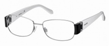 Roberto Cavalli RC0544 Eyeglasses Eyeglasses - 014 - Light ruthenium, black/pearl white temples