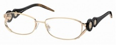 Roberto Cavalli RC0549 Eyeglasses Eyeglasses - 028 - Rose gold, striped shaded black