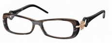 Roberto Cavalli RC0551 Eyeglasses Eyeglasses - 050 - Melange brown/grey, rose gold, black temples