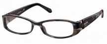 Roberto Cavalli RC0560 Eyeglasses Eyeglasses - 050 - Melange brown/grey, dark ruthenium, black temple tips