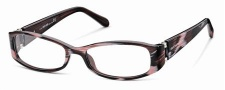 Roberto Cavalli RC0560 Eyeglasses Eyeglasses - 068 - Melange ruby red/rose, palladium, black temple tips