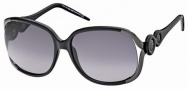 Roberto Cavalli RC589S Sunglasses Sunglasses - 01B Black, Gradient Gray Lens