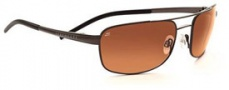 Serengeti Riano Sunglasses Sunglasses - 7432 Metallic Gunmetal / Drivers Gradient