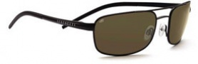 Serengeti Riano Sunglasses Sunglasses - 7431 Satin Black / Drivers Polarized