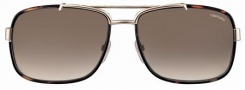 Tom Ford FT0147 Sunglasses Sunglasses - 28F Dark Havana Gold/Brown Shaded Lens