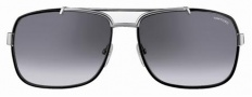 Tom Ford FT0147 Sunglasses Sunglasses - 14W Black Silver/Gray Shaded Lens
