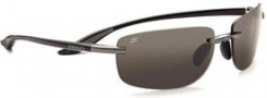 Serengeti Rotolare Sunglasses Sunglasses - 7477 Shiny Black / Polar PhD CPG