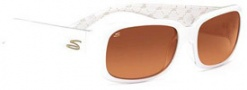 Serengeti Giuliana Sunglasses Sunglasses - 7466 Shiny White / Driver Gradient