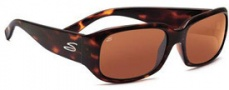 Serengeti Giuliana Sunglasses Sunglasses - 7464 Dark Tortoise / Drivers