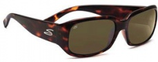 Serengeti Giuliana Sunglasses Sunglasses - 7463 Dark Tortoise / 555nm Polarized