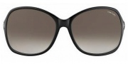 Tom Ford FT0186 Sheila Sunglasses Sunglasses - 01B Shiny Black / Gradient Smoke