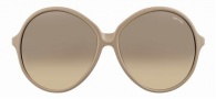 Tom Ford FT0187 Rhonda Sunglasses Sunglasses - 57F Beige Cream/Beige Shaded