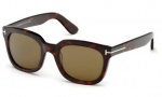 Tom Ford FT0198 Campbell Sunglasses Sunglasses - 56J Havana / Roviex