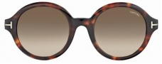 Tom Ford FT0199 Sunglasses Sunglasses - 56K Havana/brown