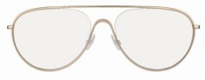 Tom Ford FT5154 Eyeglasses Eyeglasses - 028 Light Brown-Gold