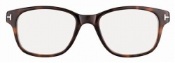 Tom Ford FT5196 Eyeglasses Eyeglasses - 052 Dark Havana