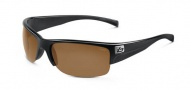 Bolle Zander Sunglasses Sunglasses - 11378 Shiny Black / EagleVision 2 Dark