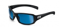 Bolle Winslow Sunglasses Sunglasses - 11392 Shiny Black / Polarized Offshore Blue 