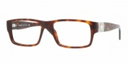 Versace VE3136 Eyeglasses Eyeglasses - 874  BROWN RULE/BROWN TRAN DEMO LENS