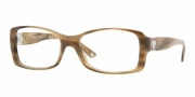Versace VE3137 Eyeglasses Eyeglasses - 773  METALLIC HORN STRIPED DEMO LENS