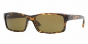 Ray-Ban RB4151 Sunglasses Sunglasses - 710/57 LIGHT HAVANA CRYSTAL BROWN POLARIZED