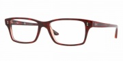 Ray-Ban RX5225 Eyeglasses Eyeglasses - 5034  TOP RED HAVANA/TR RED DEMO LENS
