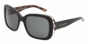 Dolce & Gabbana DG4101 Sunglasses Sunglasses - 175087 Animal Black / Gray