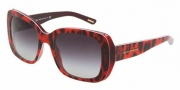 Dolce & Gabbana DG4101 Sunglasses Sunglasses - 17518H Animal Violet / Violet Gradient