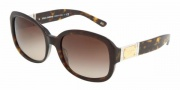 Dolce & Gabbana DG4086 Sunglasses Sunglasses - 502/13 Havana / Brown Gradient