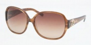 Tory Burch TY7026 Sunglasses Sunglasses - 668/13 AMBER BROWN GRADIENT