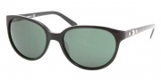 Tory Burch TY7027 Sunglasses Sunglasses - 501/71 BLACK GREEN SOLID