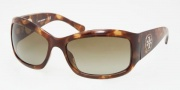 Tory Burch TY9004 Sunglasses Sunglasses - 504/13 SPOTTY TORT BROWN GRADIENT