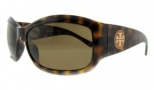 Tory Burch TY9004 Sunglasses Sunglasses - 510/73 TORTOISE BROWN SOLID