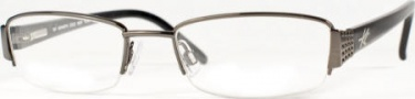 Kenneth Cole New York KC0102 Eyeglasses Eyeglasses - 0BR Hematite Marb/Demo Lens