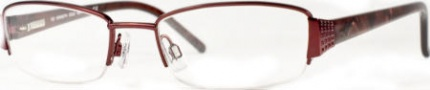 Kenneth Cole New York KC0102 Eyeglasses Eyeglasses - R20 Burgundy/Demo Lens