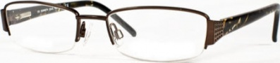 Kenneth Cole New York KC0102 Eyeglasses Eyeglasses - 776 Brown/Demo Lens