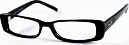Kenneth Cole New York KC0140 Eyeglasses Eyeglasses - 001 Semi Shiny Black/Demo Lens