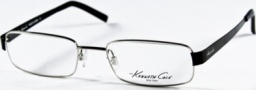 Kenneth Cole New York KC0141 Eyeglasses Eyeglasses - 010 Shiny Silver/Demo Lens
