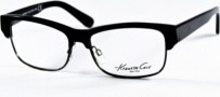 Kenneth Cole New York KC0143 Eyeglasses Eyeglasses - 001 Black/Demo Lens