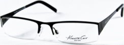 Kenneth Cole New York KC0146 Eyeglasses Eyeglasses - 002 Satin Black/Demo Lens