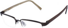 Kenneth Cole New York KC0151 Eyeglasses Eyeglasses - 048 Shiny Brown/Demo Lens